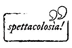 spettacolosìa! Logo