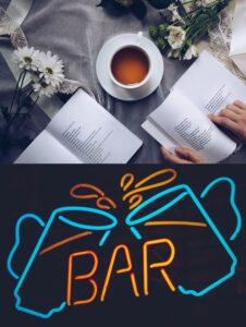 Circolo ricreativo, sala letture, caffè letterario